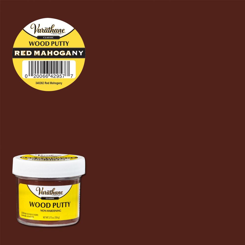 Varathane 3.75 oz. Red Mahogany Wood Putty (6-Pack)