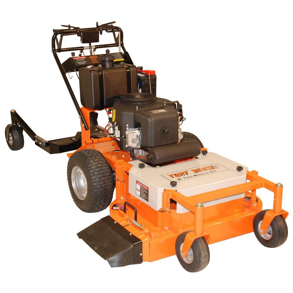 Beast 36 in  22 HP Suburu EH65V Commercial Duty, Dual Hydro Walk Behind  Finish Cut Turf Mower w/Floating Deck