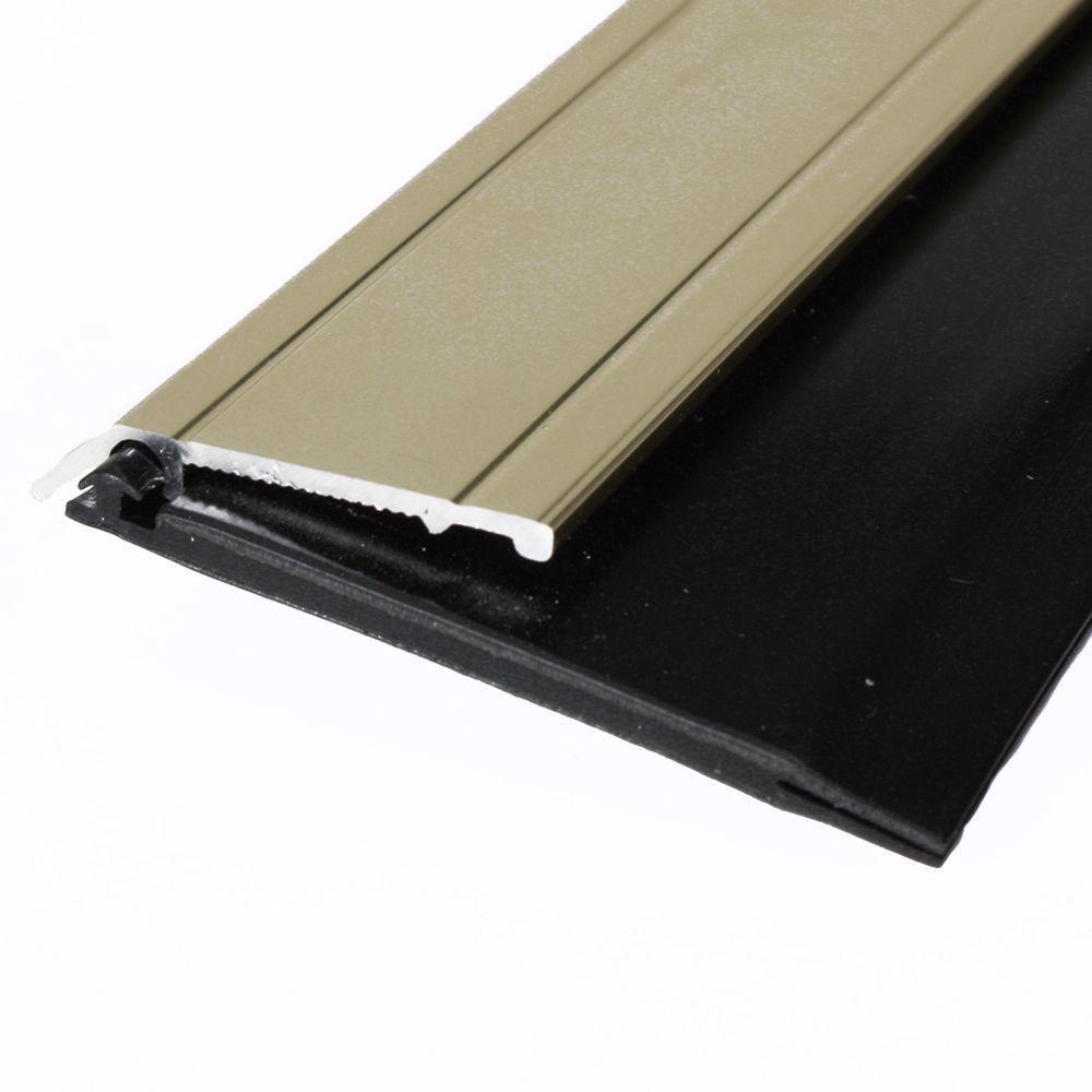 E/O 2 in. x 36 in. Gold Heavy-Duty Door Sweep