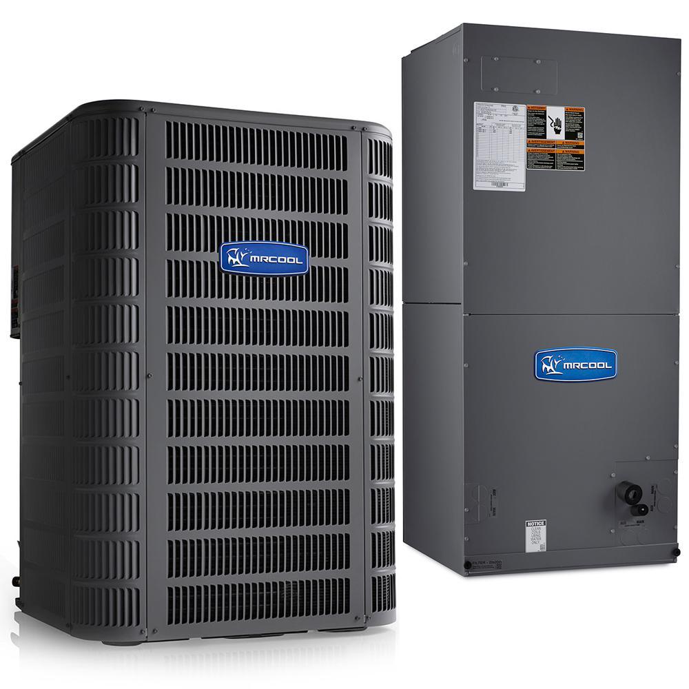 Signature 2-Ton 15.5 SEER 8.5 HSPF Complete Split Air Conditioning Heat Pump System