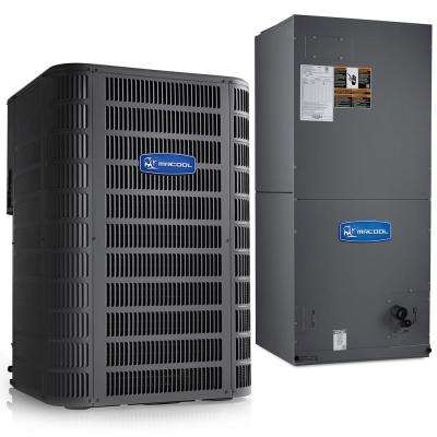 Signature 2-Ton 14.5 SEER 8.5 HSPF Complete Split Air Conditioning Heat Pump System