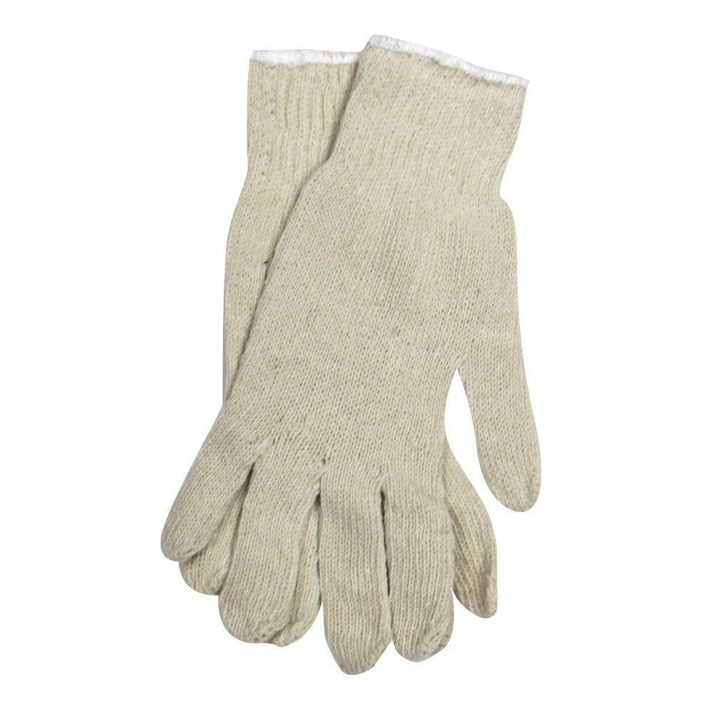 Trimaco Natural Colored String Gloves - Large