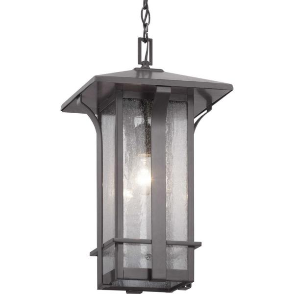 Cullman Collection 1-Light Antique Bronze Hanging Lantern