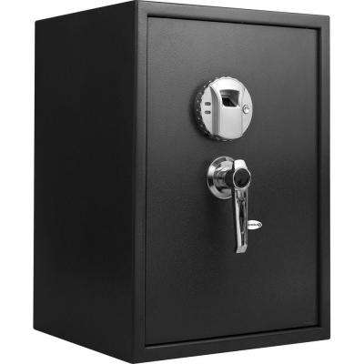 1.45 cu. ft. Large Safe with Biometric Lock, Black Matte