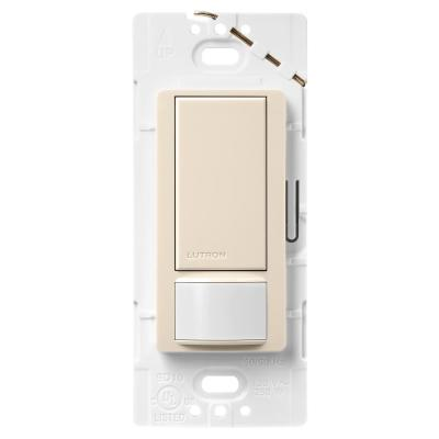 Maestro 2 Amp Motion Sensor Switch, Single-Pole, Light Almond