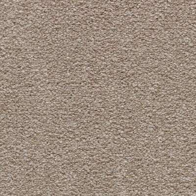 Carpet Sample - Mason I - Color Henna Texture 8 in. x 8 in.
