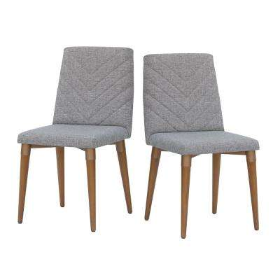 Utopia Gray Dining Chair (Set of 2)