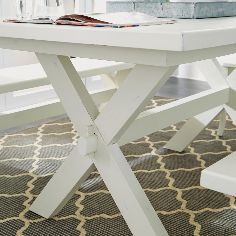 Seaside Lodge White Dining Table