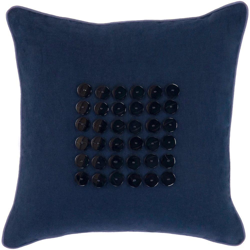 Artistic Weavers Button2 18 in. x 18 in. Decorative Down Pillow