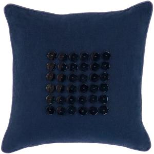 Click here to buy Artistic Weavers Button2 18 inch x 18 inch Decorative Pillow by Artistic Weavers.