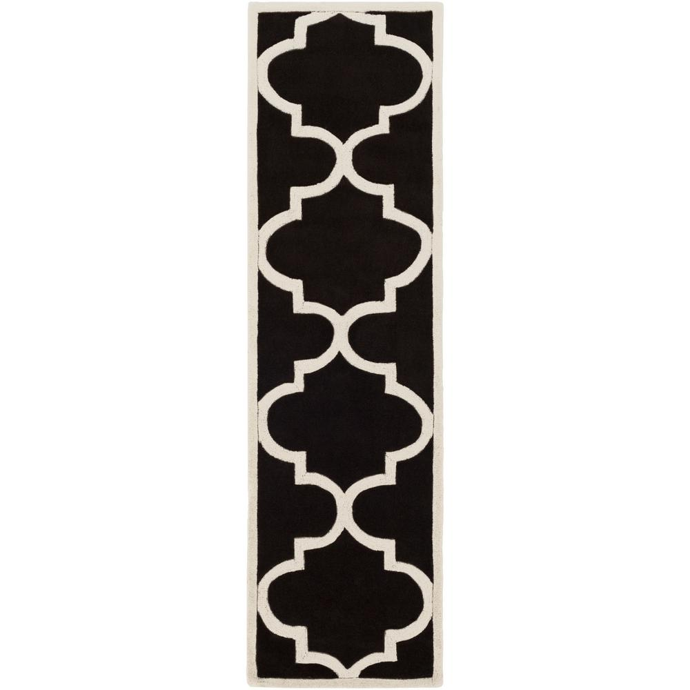 Santorini Harmony Onyx Black 2 ft. 3 in. x 8 ft.