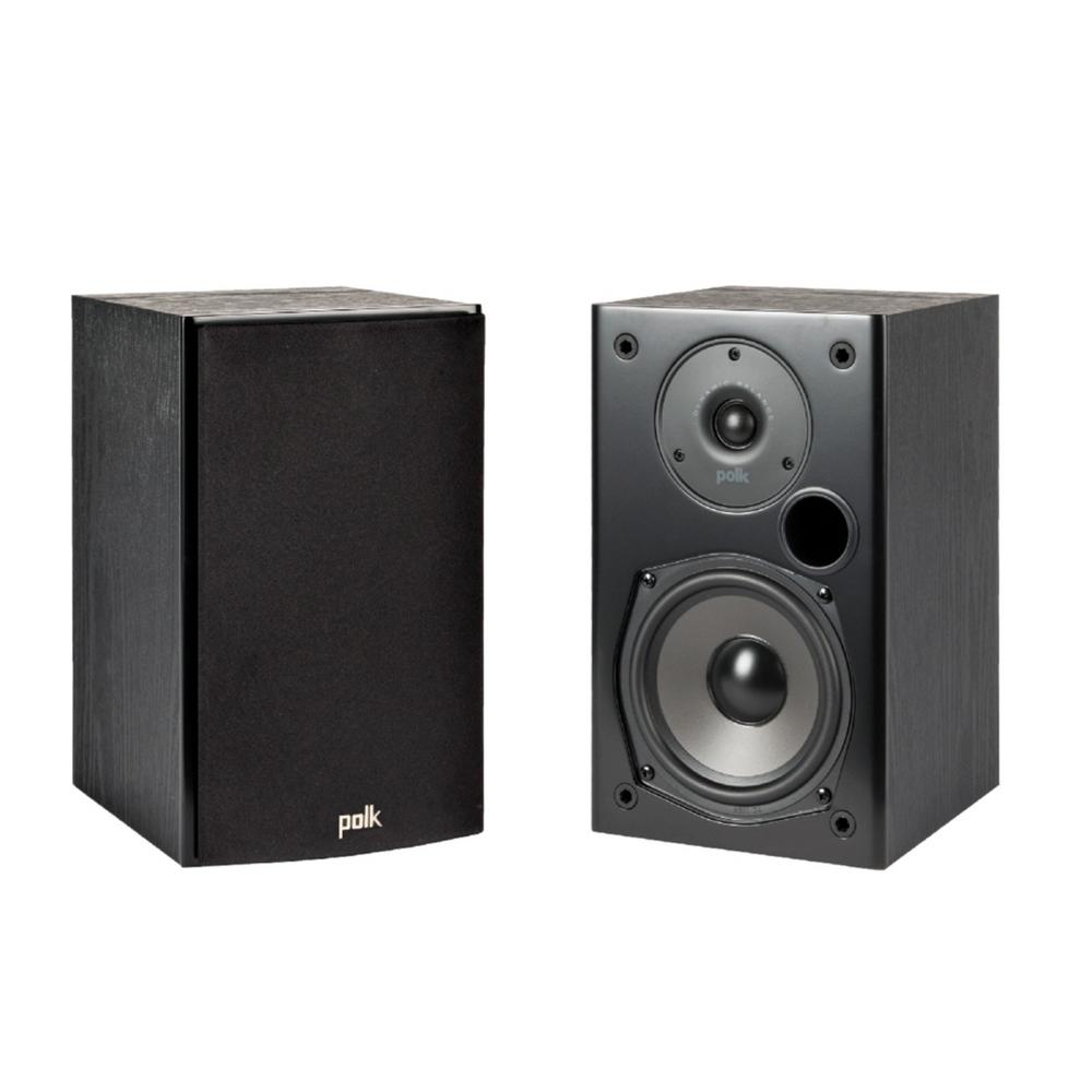 Polk Audio T15 Home Theater and Music Bookshelf Speakers