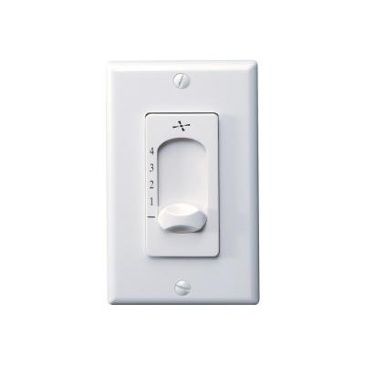 White Wall Fan Switch