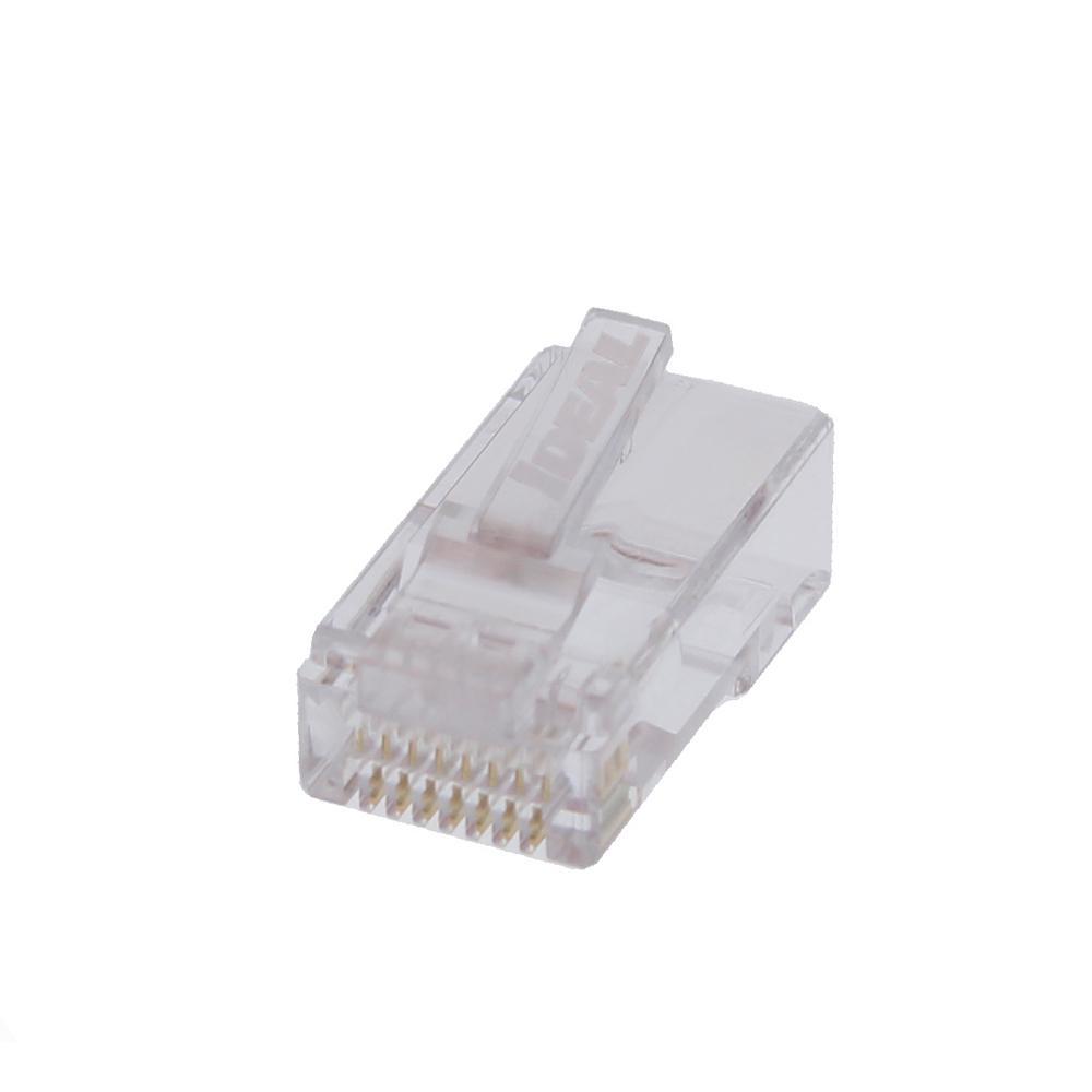 CAT 6 Single Piece Modular Plug (25-Pack)