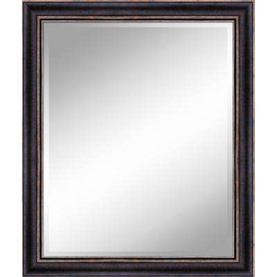 31 in. x 37 in. Bronze Gold Mirror in 1 in. Bevel with 3.5 in. Frame