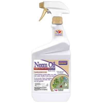 BONIDE 32 oz Neem Oil Fungicide, Miticide, & Insecticide Ready-To-Use