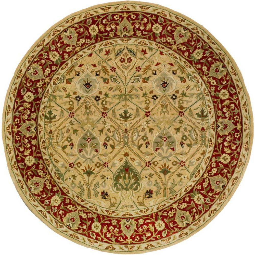 Safavieh Persian Legend Ivory/Rust 8 ft. x 8 ft. Round Area Rug