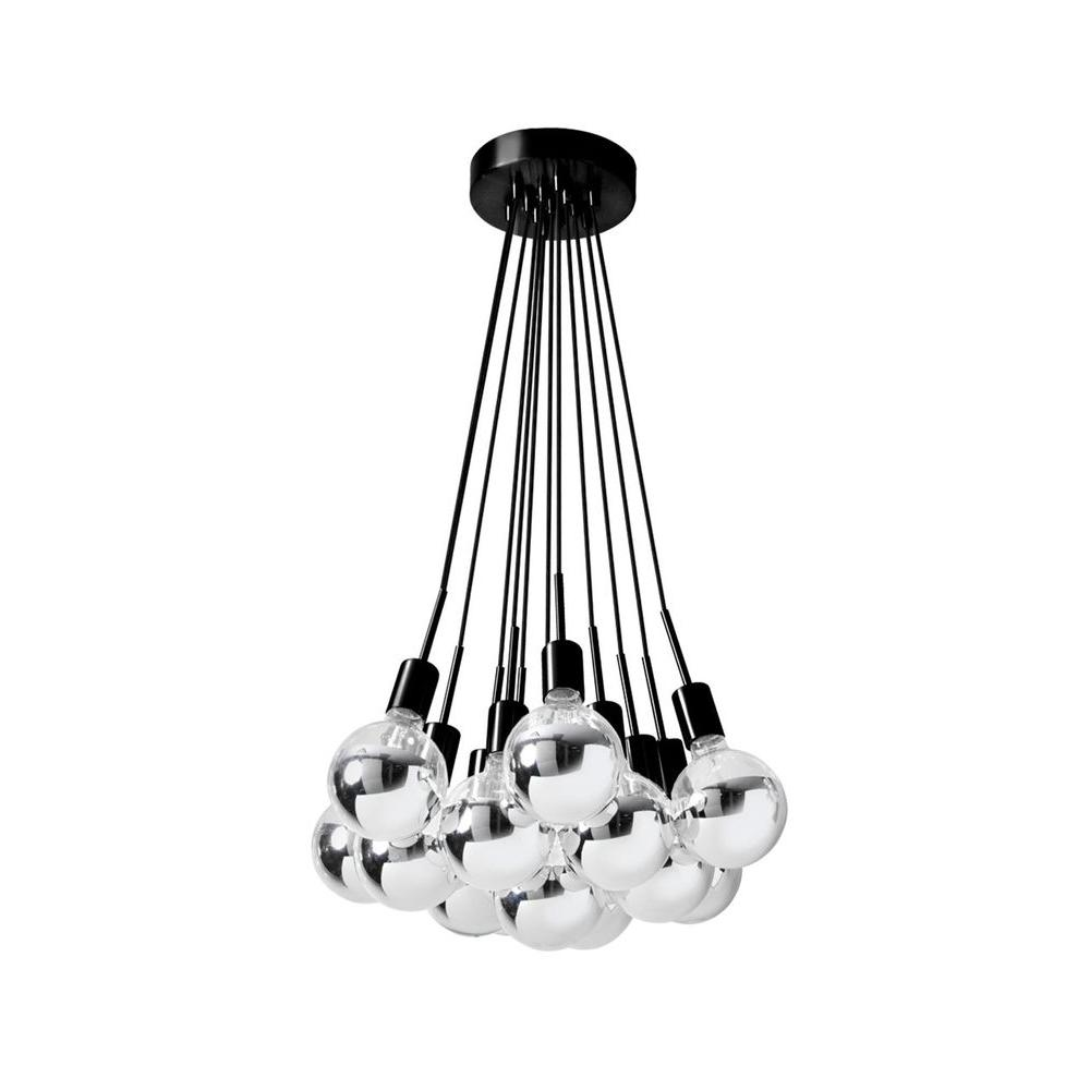 Filament Design Catherine 13-Light Black Multi-Light Pendant
