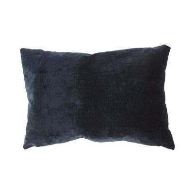 Luxe Blue Nights Downfill Decorative Pillow