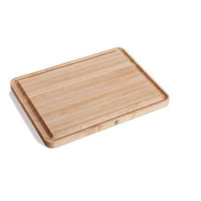 Vermonter 30 in. x 17 in. Edge Grain Butcher Block Board