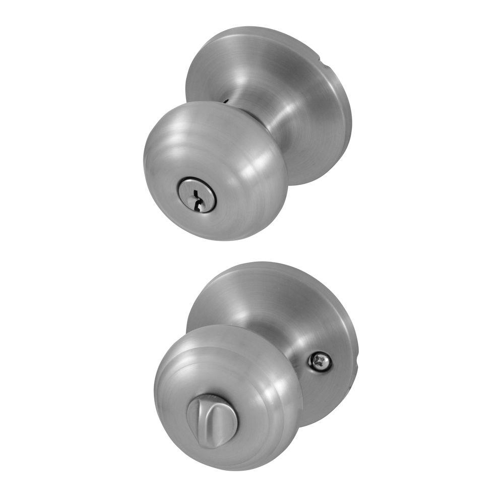 Honeywell Classic Satin Nickel Entry Knob