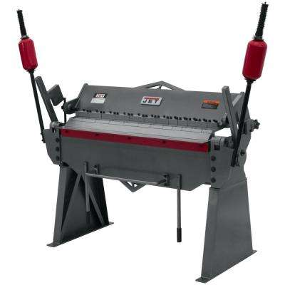 BPF-1248 48 in. x 12-Gauge Floor Model Box and Pan Brake