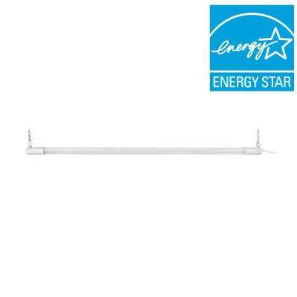 3 ft. Bright/Cool Light White Integrated LED Shop Light Bar