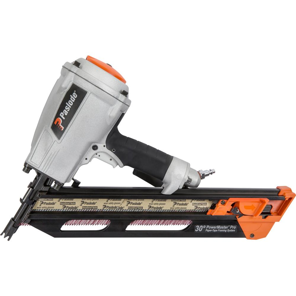 Paslode PowerMaster Pro 30-Degree Pneumatic Framing Nailer