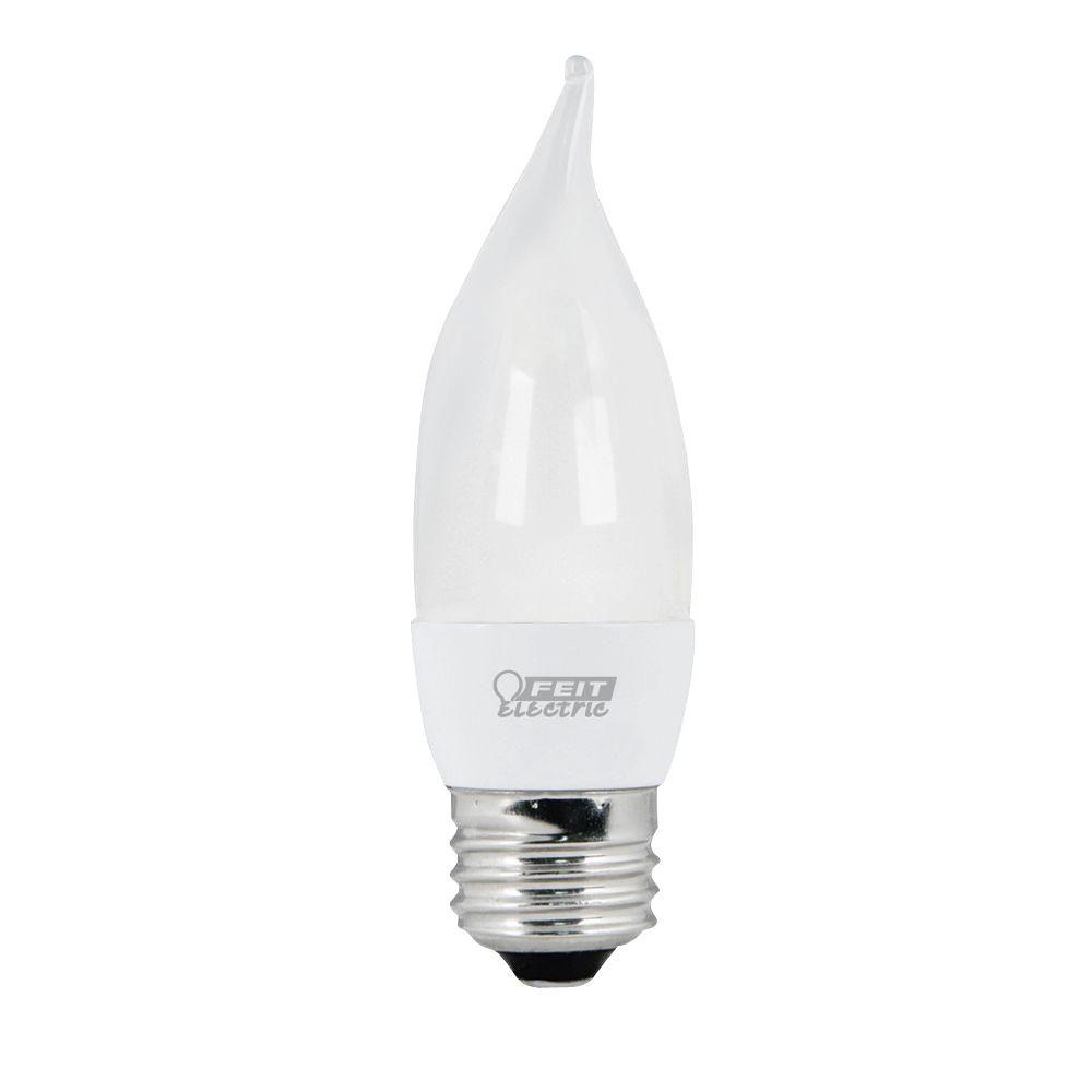 Feit Electric 25W Equivalent Soft White (3000K) CA Frost Standard Base LED Light Bulb