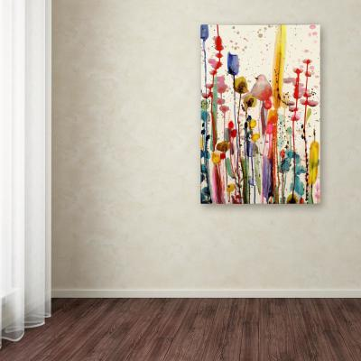 """32 in. x 22 in. """"Ce Doux Matin"""" by Sylvie Demers Printed Canvas Wall Art"""