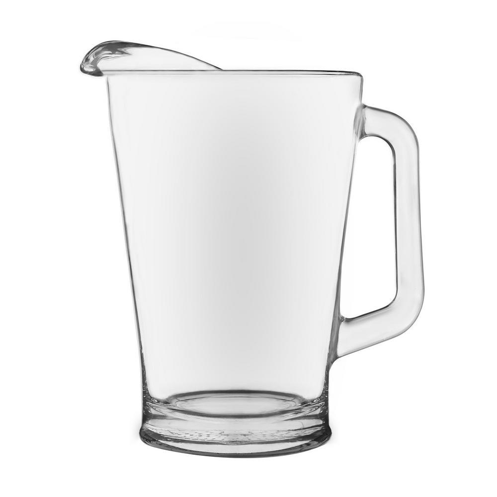 libbey 60 oz clear glass pitcher 5260 the home depot. Black Bedroom Furniture Sets. Home Design Ideas