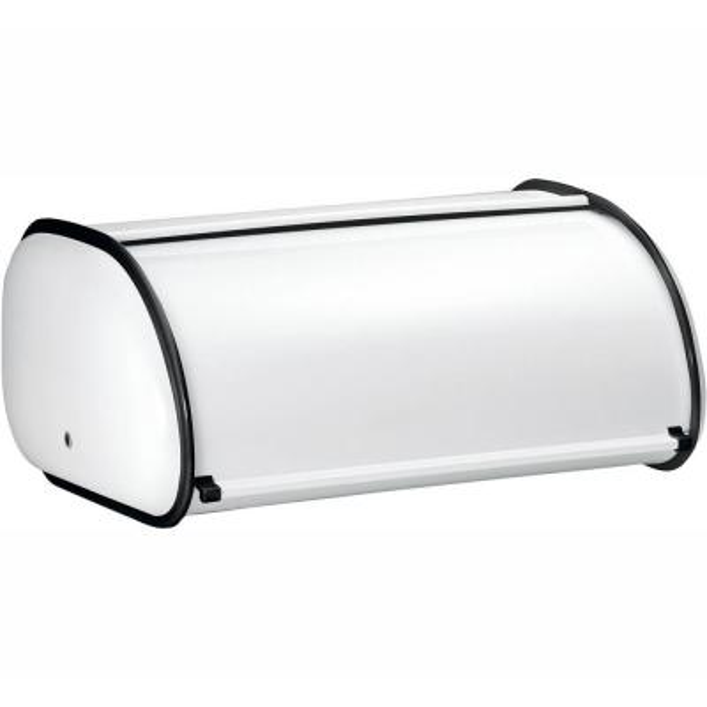 Deluxe Bread Bin in White