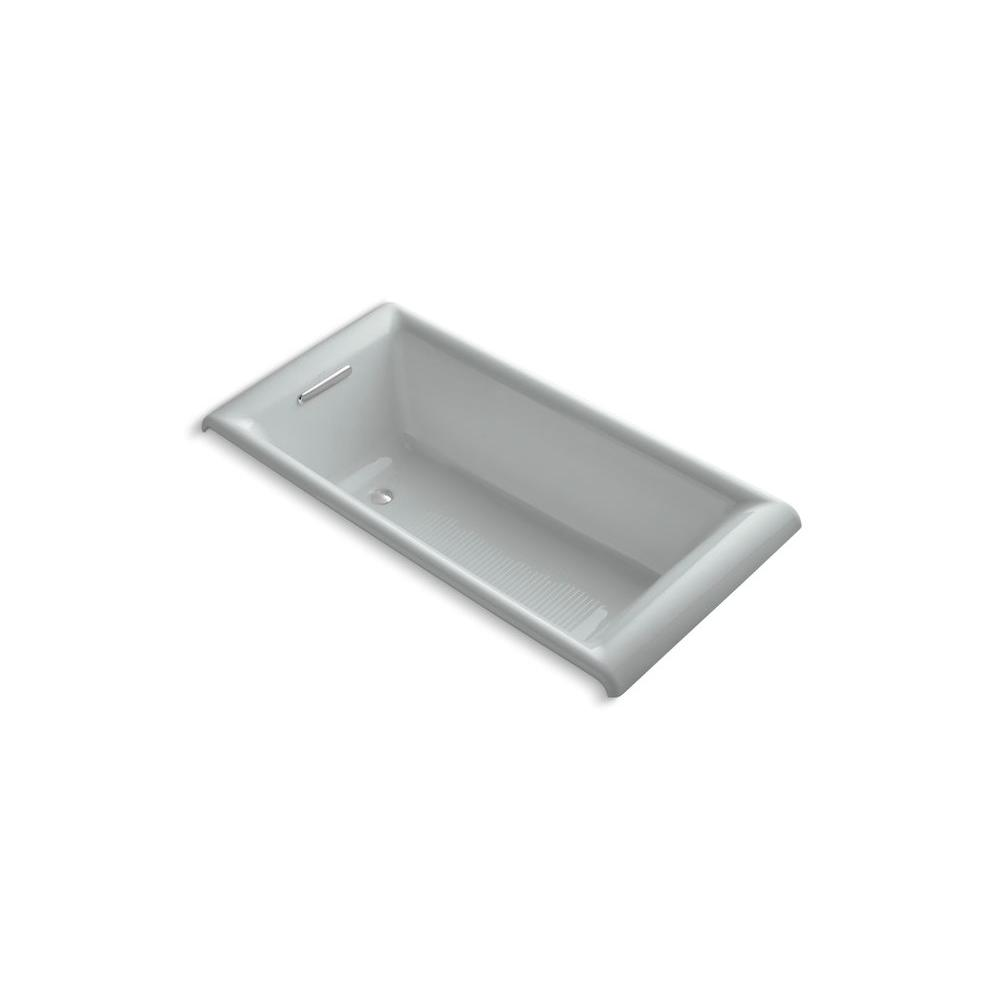 KOHLER Parity 5 ft. Bathtub in Ice Grey-DISCONTINUED