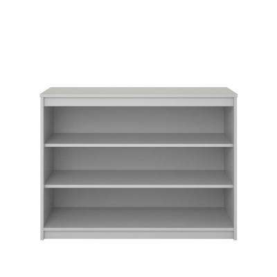Sandhill Dove Gray Bookcase
