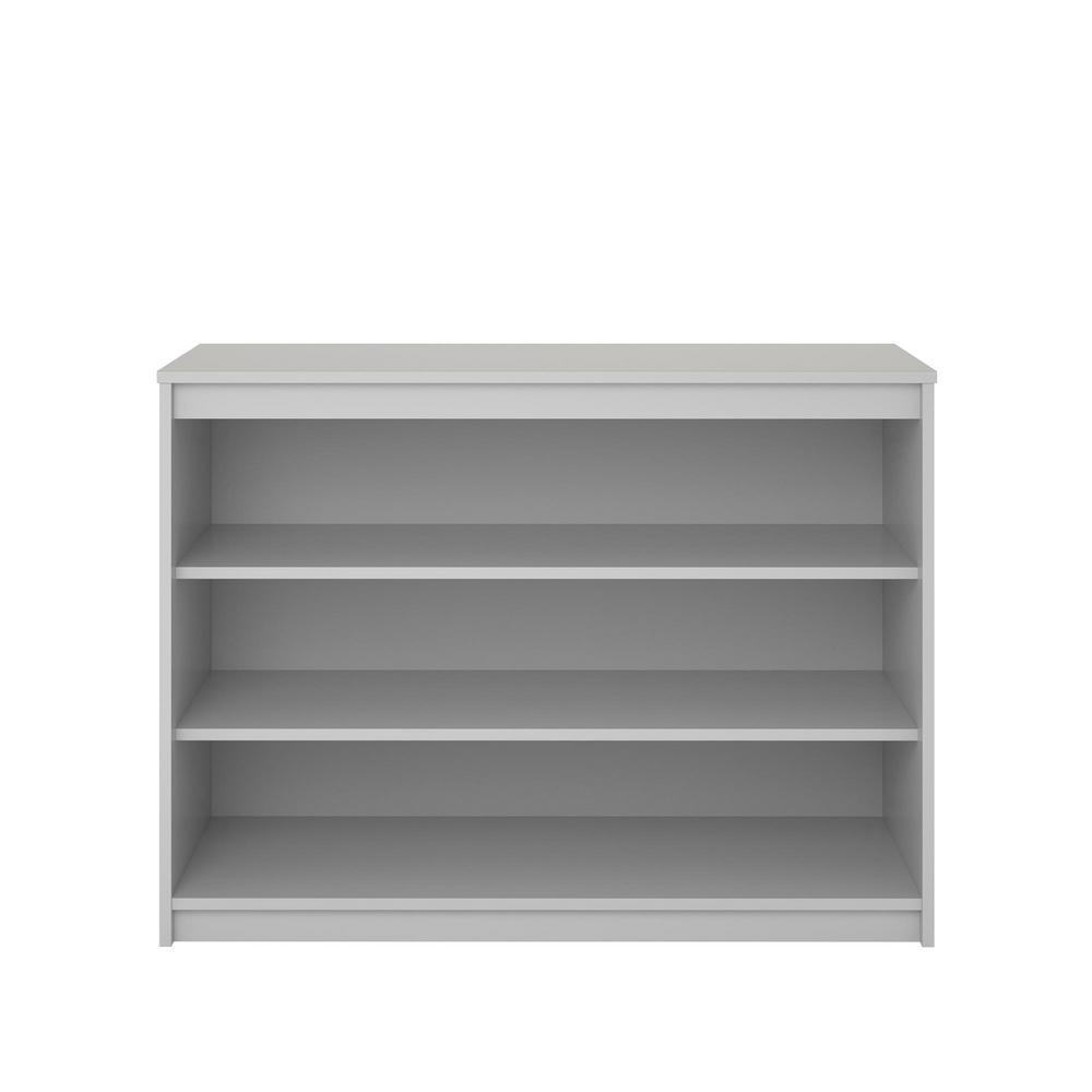 Sandhill Dove Gray Bookcase
