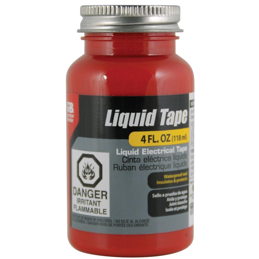 4 oz. Liquid Electrical Tape - Red