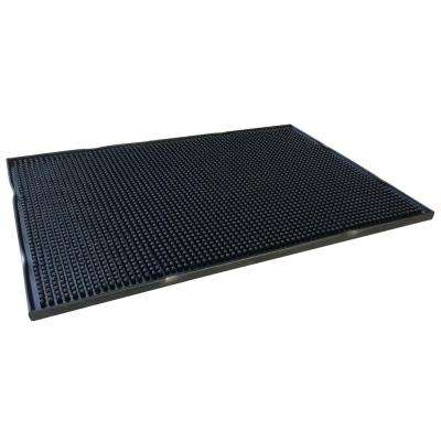 18 in. x 12 in. Rubber Service Spill Mat (2-Pack)