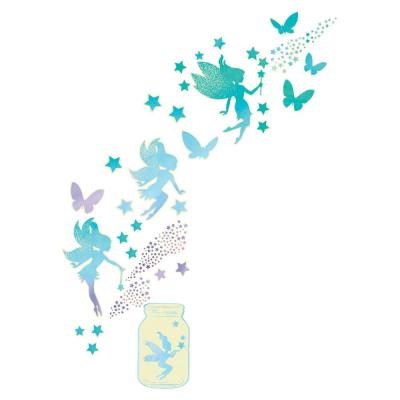 Fairy Dust Glow in the Dark Wall Art Kit Wall Decals