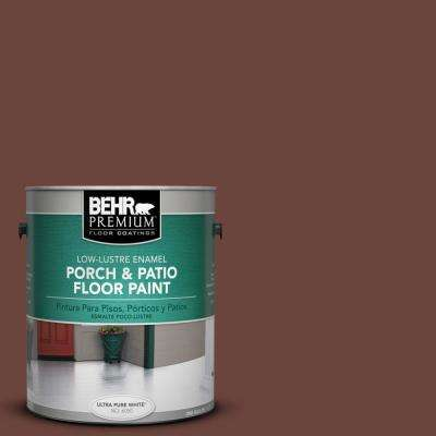 1 gal. #S-G-750 Chocolate Sprinkle Low-Lustre Porch and Patio Floor Paint