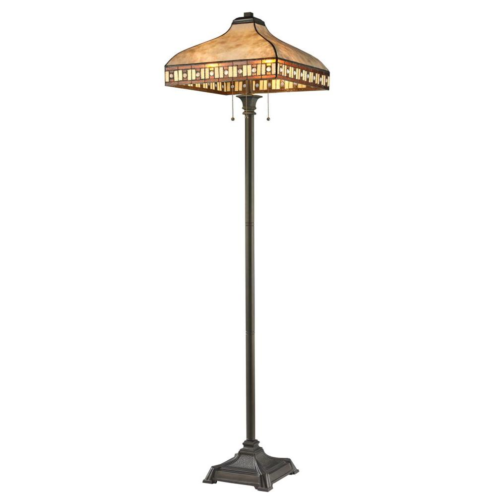 Filament Design Rose 65.5 in. Java Bronze Floor Lamp-CLI-JB-037425 ...