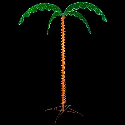 7 ft. Holographic LED Lighted Palm Tree