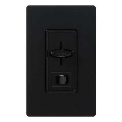 Skylark 450-Watt/600 VA Single-Pole Magnetic Low-Voltage Dimmer - Black