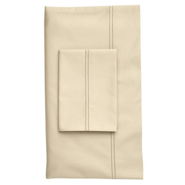 The Company Store Legends Light Sand Solid 800-Thread Count Egyptian Cotton