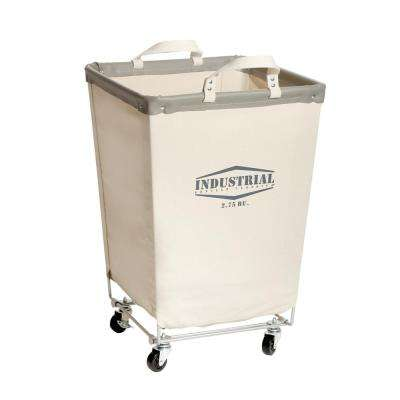 Commercial Canvas Laundry Hamper Cart