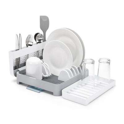 Foldaway Dish Rack with Premium ABS Plastic