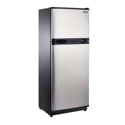 10.3 cu. ft. 290 l Solar DC Top Freezer Refrigerator Danfoss/Secop Compressor in Stainless Steel