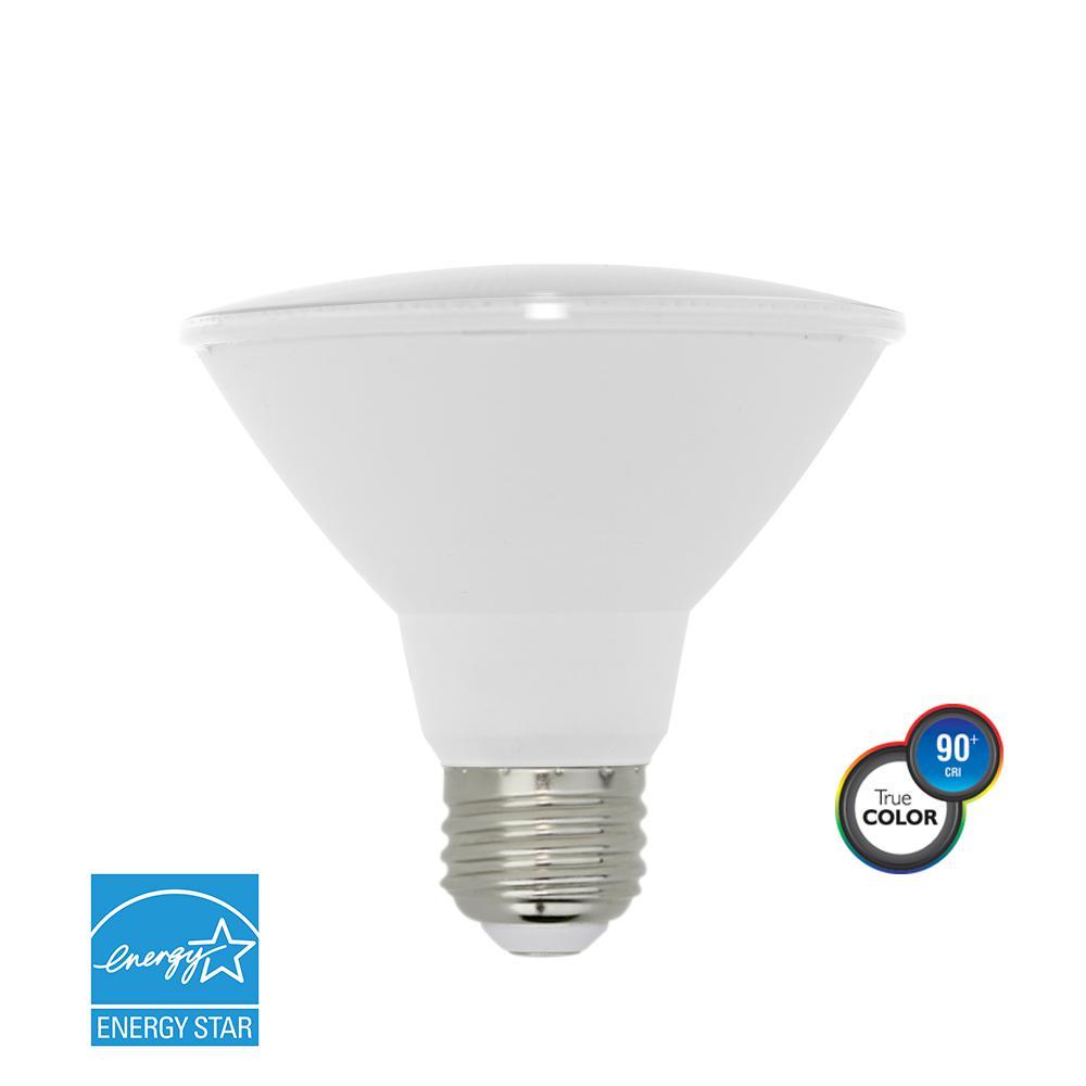 75W Equivalent Bright White PAR30 Short Neck Dimmable LED Light Bulb