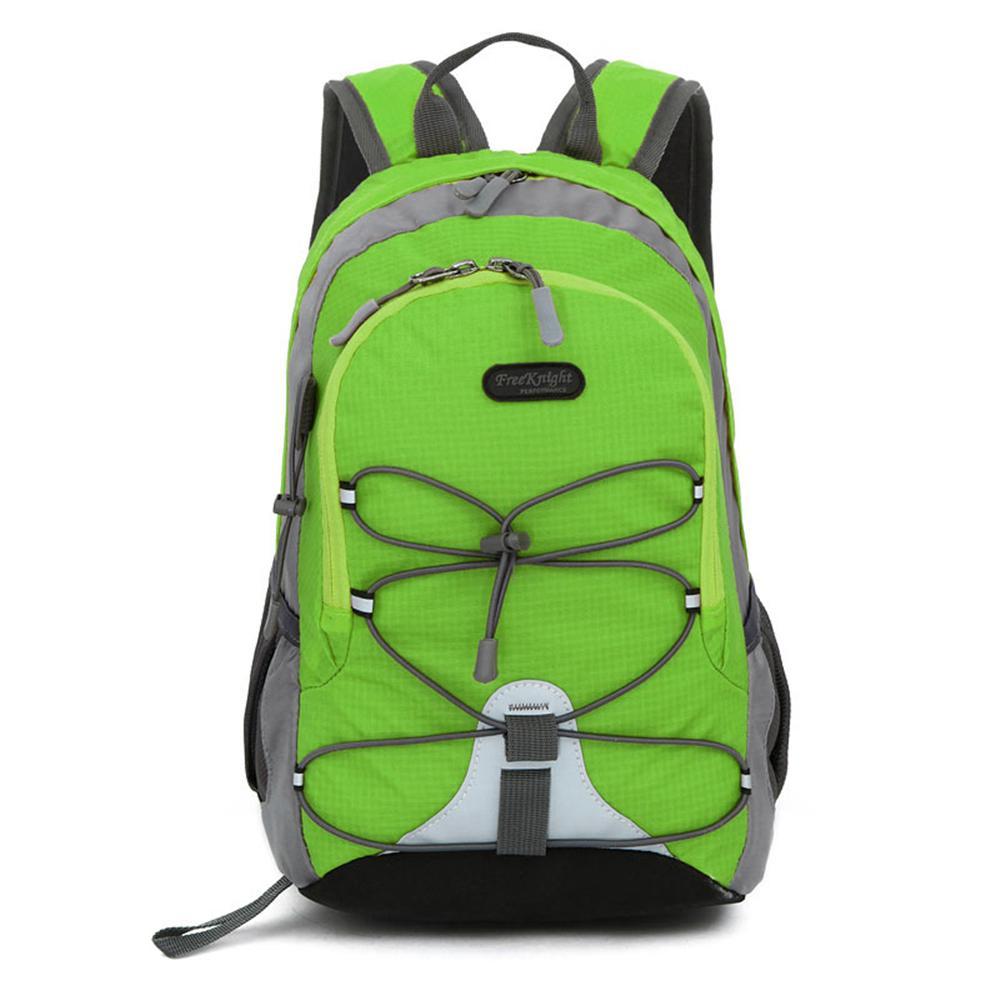 Free Knight FK0611 Waterproof Nylon Mini Sports 5 in. Apple Green Backpack for Kids