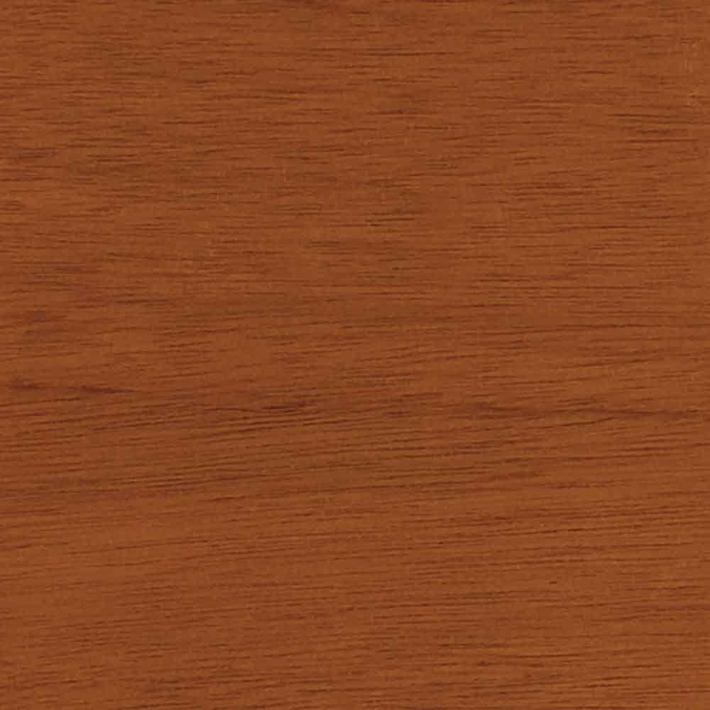 4 in. x 3 in. Wood Garage Door Sample in Luan with Cedar 077 Stain