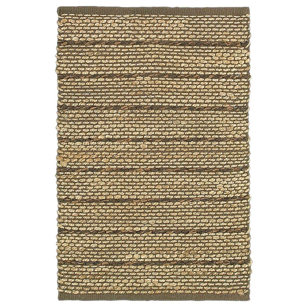 LR Resources Natural Fiber Palma Brown Rectangle 8 ft. x 10 ft. Indoor Area Rug
